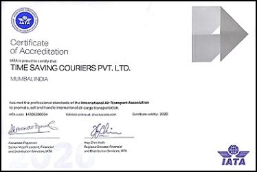 IATA Certificate 2020