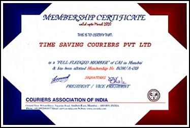 Membership Certificate - CAI